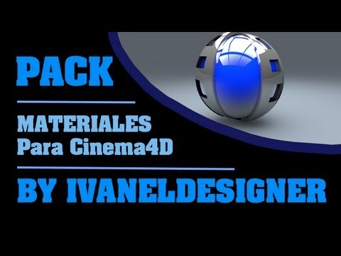 Pack (+1000) Materiales para Cinema4D