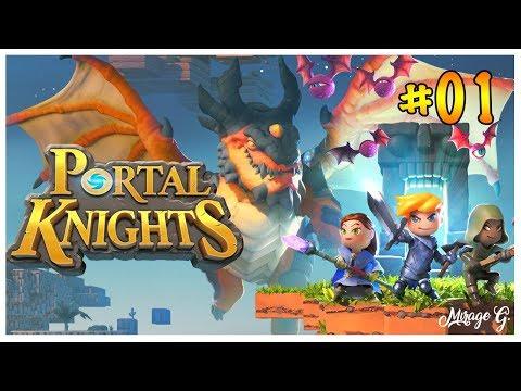♠️ JE PART POUR UNE AVENTURE ! 💫 - Portal Knight [Fr] #1