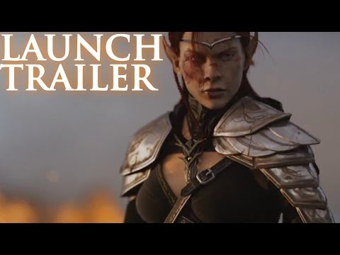 The Elder Scrolls Online Launch Trailer - New Cinematic Trailer