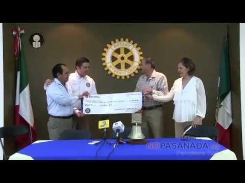 Ponen Rotarios 200 mil para Club de Niños y Niñas de Navojoa