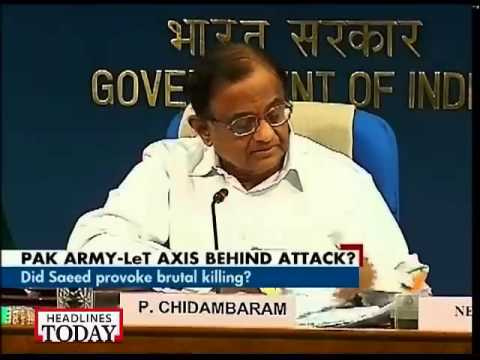 Killing of Indian jawans: We will not internationalise the issue, say P Chidambaram
