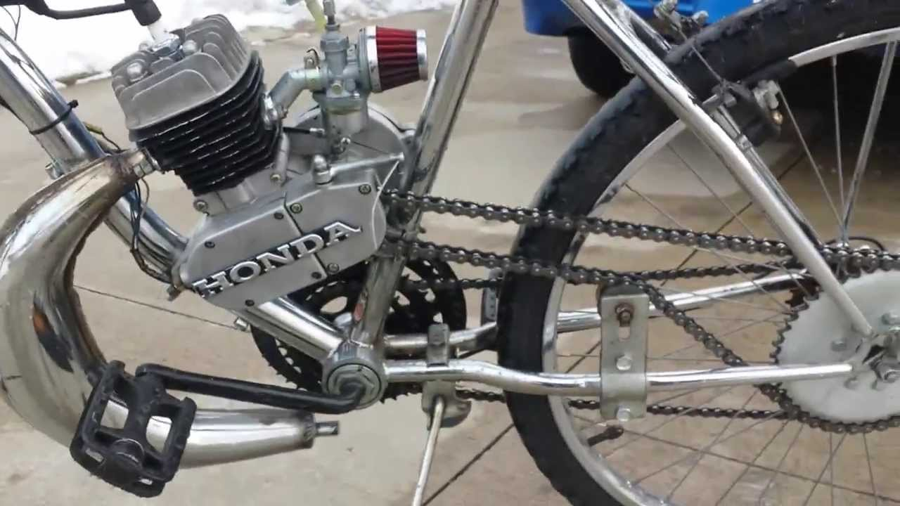 Tuned Ported High Performance Motorized Bicycle 66cc Youtube