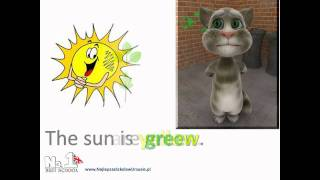 Learn English Online -colours & cat - video support - www.NajlepszaSzkolawUrsusie.pl no1bestschool