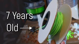 Does 3D Printing Filament EXPIRE? Cheap Food Dehydrator Tested