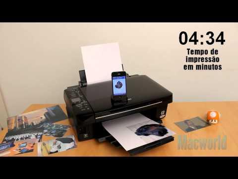 Stylus TX420W imprime fotos diretamente do iPhone (review)