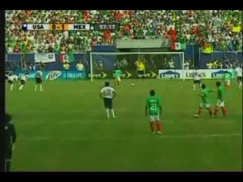 USA 0 - 5 Mexico Goals (Gold Cup)