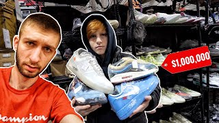 THIS MILLIONAIRE KID BOUGHT EVERY SNEAKER THEY SELL ALREADY