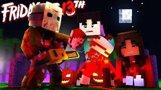 Minecraft - Friday the 13th - WE KILLED JASON?!