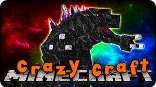 Minecraft Mods - CRAZY CRAFT 2.0 - Ep # 70 'EPIC MOBZILLA FIGHT!' (Superhero Mod)