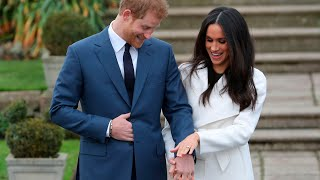 Prince Harry and Meghan Markle appear for first time as engaged couple