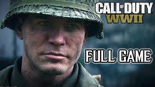 Call Of Duty: WORLD WAR II FULL GAME Walkthrough (PS4 Pro) @ 1080p (60ᶠᵖˢ) HD ✔