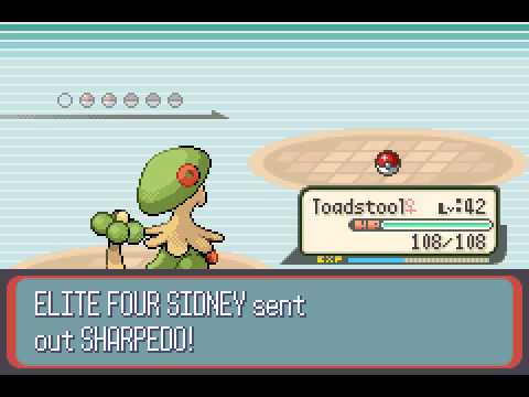 Pokemon Ruby - VS. SIDNEY - User video