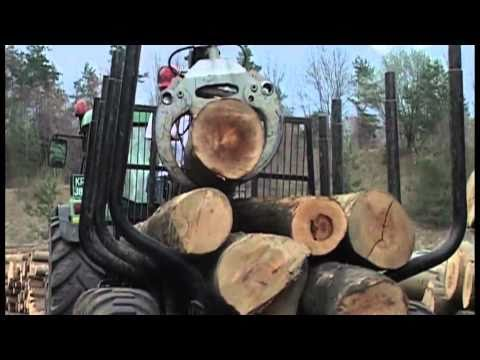 Gozdarsko dvigalo Palms 840 in prikolica Palms 122