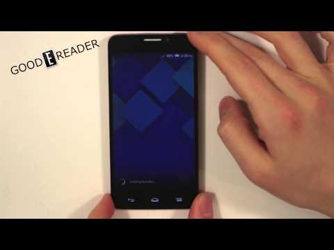 Alcatel One Touch Idol X Unboxing