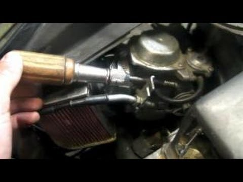 Scooter/Moped Carburetor Adjustment