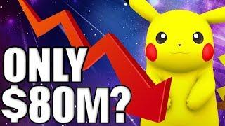 Pokemon Company Profit FALLS to $80Million - Pokemon Let's Go A MISTAKE?