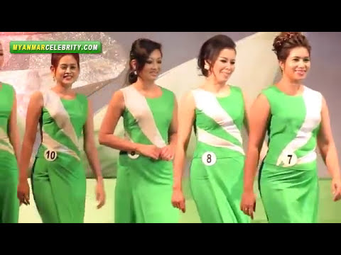 Queen Oramin-F Beauty Contest 2012 @ Yangon