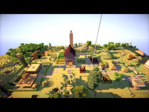 Visite (presque) complète de notre serveur Minecraft : Hysteria Craft