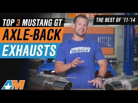 The 3 Best Axle-Back Exhausts For 2011-2014 Ford Mustang GT