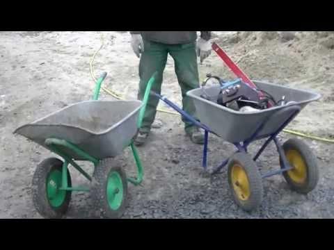 Как сделать садовую тележку своими руками видео