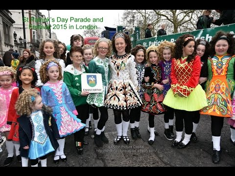 St Patrick's Day Parade and Festival 2015 in London
