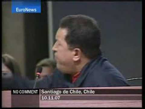 "King Juan Carlos to Chávez: ""Shut up"" - No Comment"
