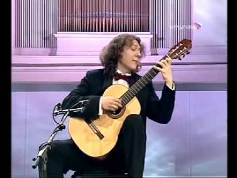 Rare Guitar Video: Dimitri Illarionov plays Valse en Skai by Roland Dyens