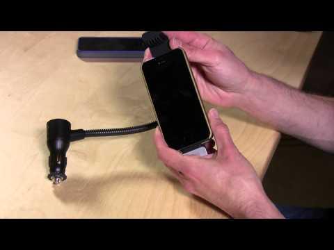 Belkin Car Charge and Navigation Mount for iPhone 5 5s F8J132btBLK