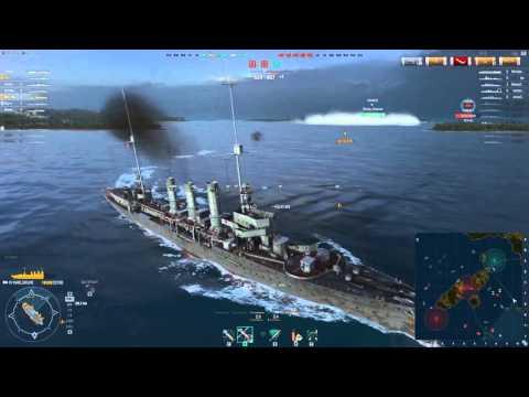 World of Warships - Solomon Islands - Tier 4-ish