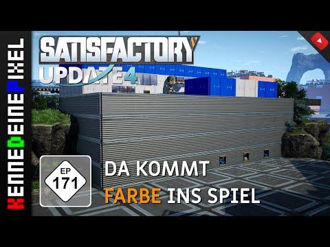 Satisfactory deutsch #171 ■ DA KOMMT FARBE INS SPIEL [german Gameplay   Let's Play]