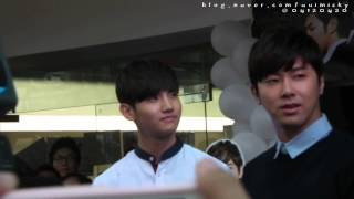 130324 Homin grand opening Missha Shop in Thailand