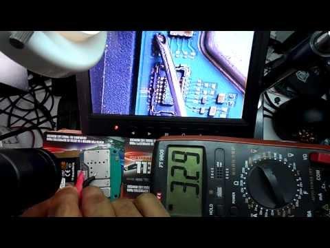 reparacion blackberry 9360 no da trackpad solo ok