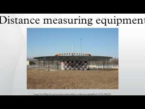 Distance measuring equipment