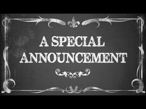 I will record a vintage audio greeting in the style of a newsreel