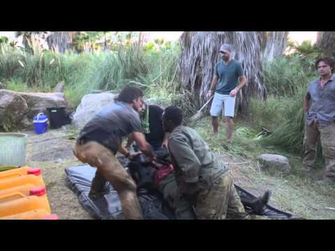 The Gunman: Behind the Scenes Movie Broll 1- Sean Penn