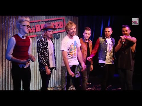 McBusted Tattoo Roulette I Press Conference I Nov 2014 | Music-News.com