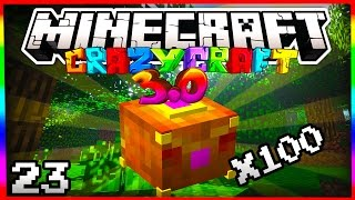 "Minecraft Crazy Craft 3.0 ""100x PANDORA BOX SPECIAL"" #23 (Pandora's Box Mod)"
