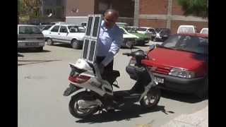 Trk mucitten Gne enerjili bisiklet