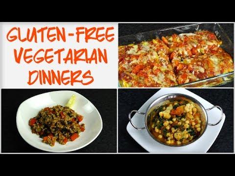 Low Fat Gluten-Free Vegetarian Dinners