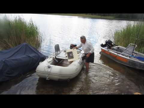 лодки резиновые для рыбалки видео