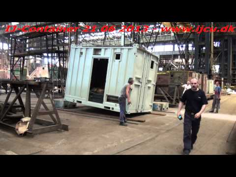 DNV 2.7-1 Impact Drop Test 13' Off Shore Container