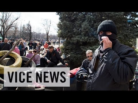 Pro-Russian Protesters Occupy State Security Service Building: Russian Roulette (Dispatch 24)