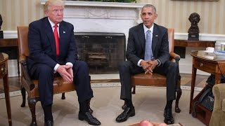 Trump and Obama Lacking Eye Contact Shows Disrespect, Body Language Expert Says