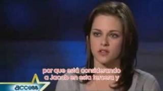 Kristen Stewart Interview Access Hollywood Subtitulado