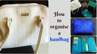How to organize a handbag | Important stuff to carry in your handbag | tips to organize indian purse