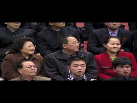 Dennis Rodman/Harlem Globetrotters in North Korea- Part I