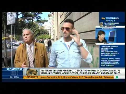 Presidente Sebastiani sulla questione deferimento Sky Sport 9-5-2012