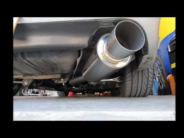 1993 Mazda RX-7 (FD3S) HKS Hi-Power Exhaust