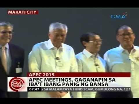 24 Oras: PNoy, pinangunahan ang paglunsad ng Asia Pacific Economic Cooperation 2015
