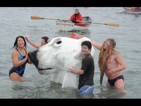 Nearly Nude Polar Bear Swim 2014 | Vancouver
